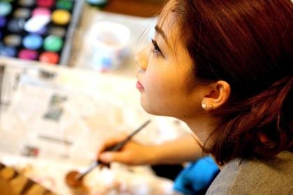 マタニティペイント アーティスト minori yamamoto