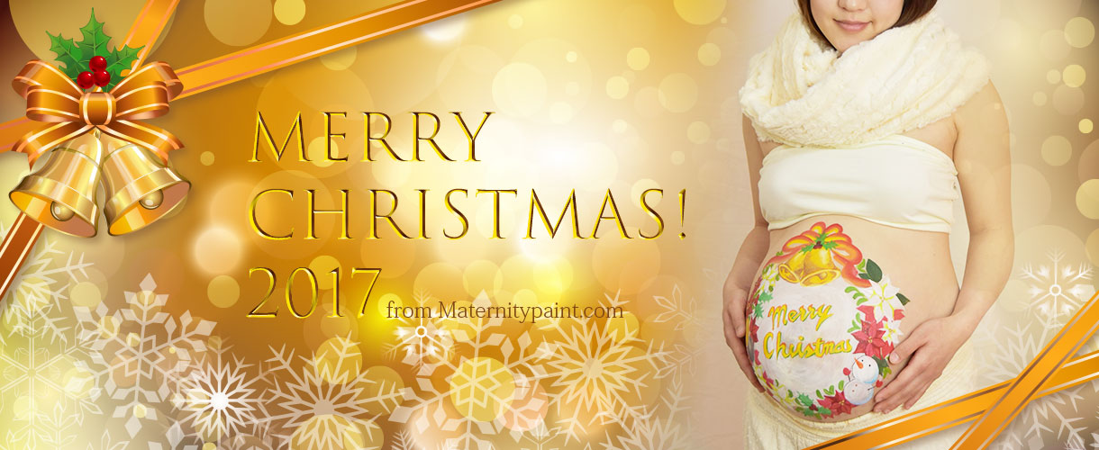 Merry Christmas 2017 from maternitypaint.com